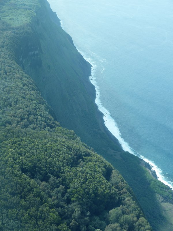 Molokai Cliffs, Kalaupapa James Brennan Molokai