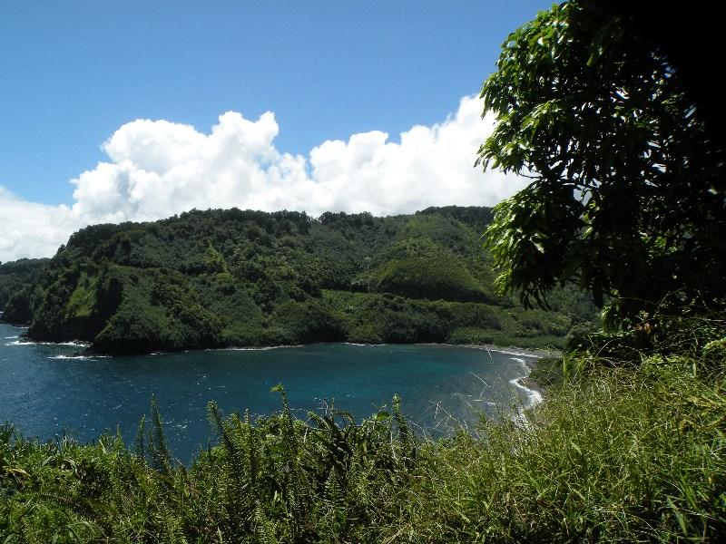 Road to Hana on Maui, Coastline, James Brennan Molokai Hawaii
