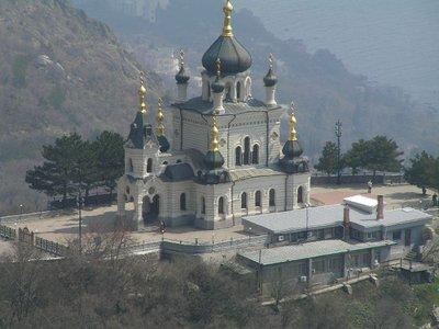 Mountain Foros Church near Yalta