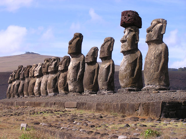 Moai - Easter Island, Chile