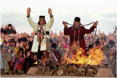 Aymara New Year celebration (Machaq Mara)