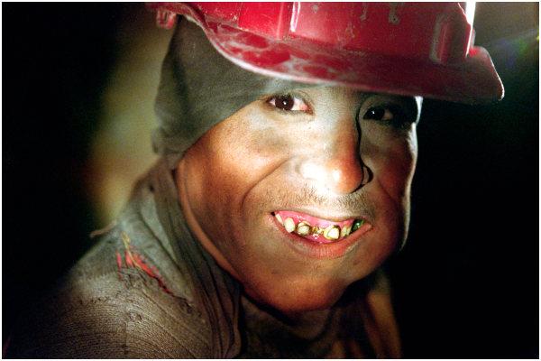 Potosí Miner at work