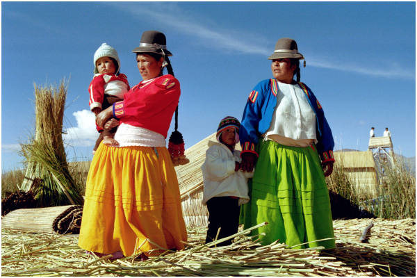 Uros Island Welcome Committee