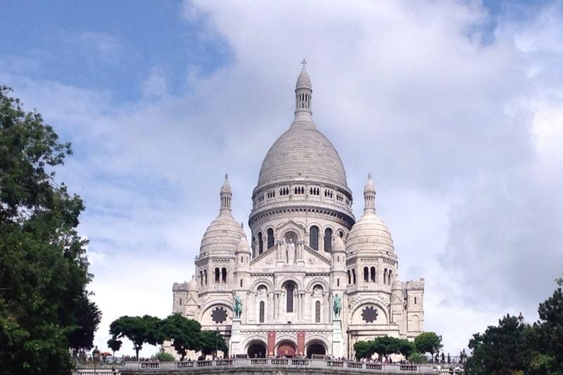 Sacre-coeur basilica, Montmartre