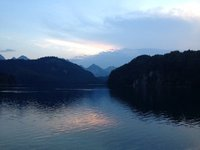 Alpsee Sunset
