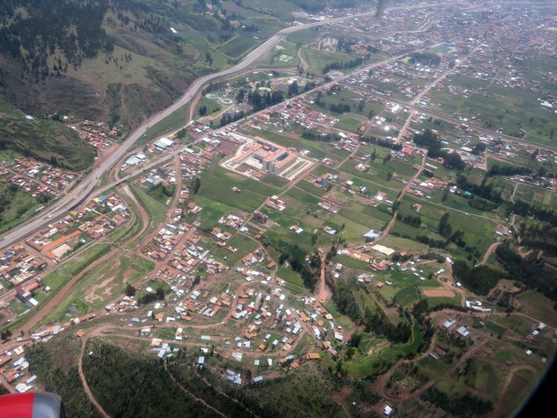 Views of Cusco from the air