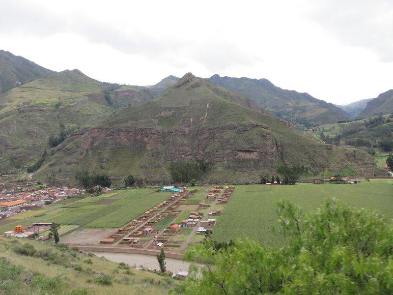 Overlooking Pisac