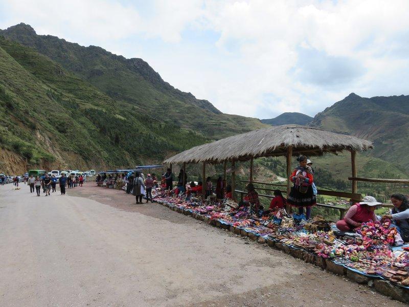Market stalls @ Pisac archaeological complex