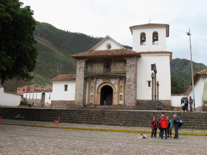 San Pedro church Andahuaylillas