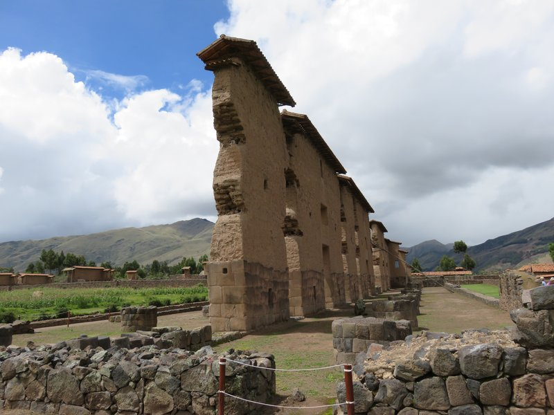 Temple of Wiracocha @ Raqchi