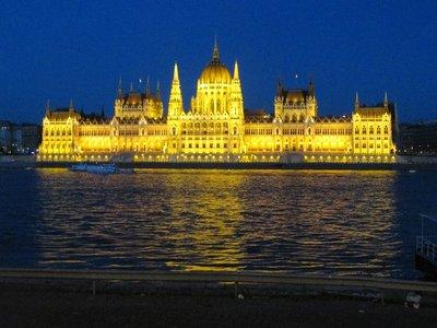 Ungarische Parlamentsgebäude