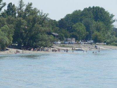 Badestrand an der St. Andrä Insel