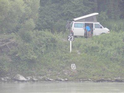 Stromkilometer 2.223 in Passau
