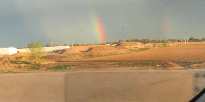 Rainbow outside of Denver