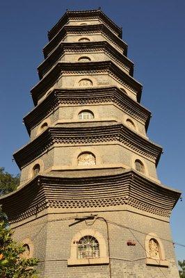 Pagode im Tianhou-Tempel.