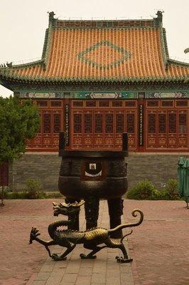 Der Tianhou-Tempel, eine Nachbildung des ursprünglich 1476 erbauten buddhistischen Tempels.
