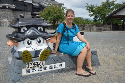 Das Kumamoto-Castle-Figürchen