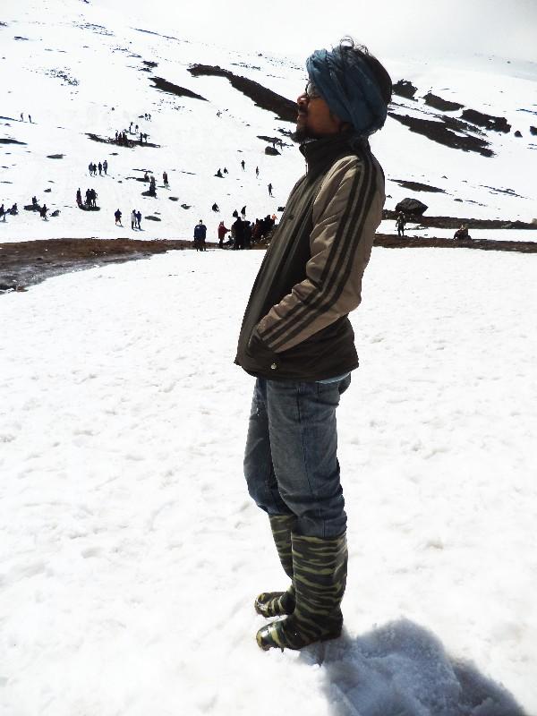 Viewing Himalayas