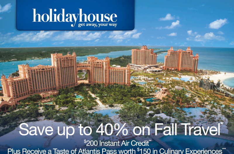 40% off fall travel