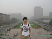 this is me in the China Millennium Monument