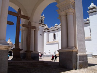 Church in Copacobana