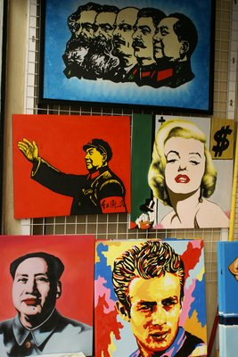 Capitalistic and communistic art for sale