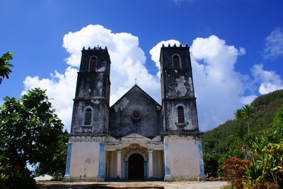 Church in Rikitea, Mangareva