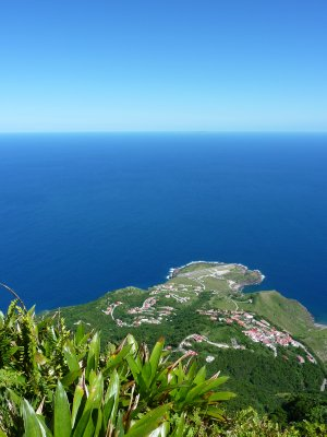 View from the top of Mount Scenery, Saba
