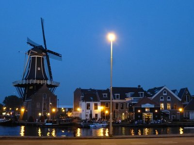 Windmill By Night