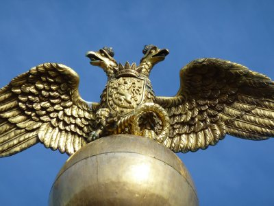 Two-headed Eagle Statue, Helsinki