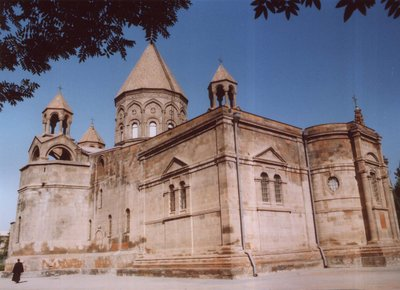 Echmiadzin, holy place for Armenians