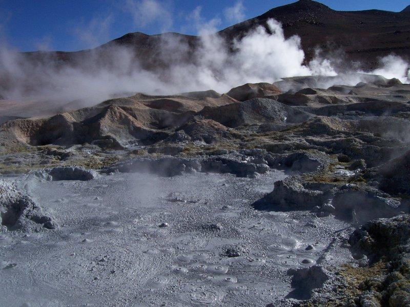 Sulfur fumes