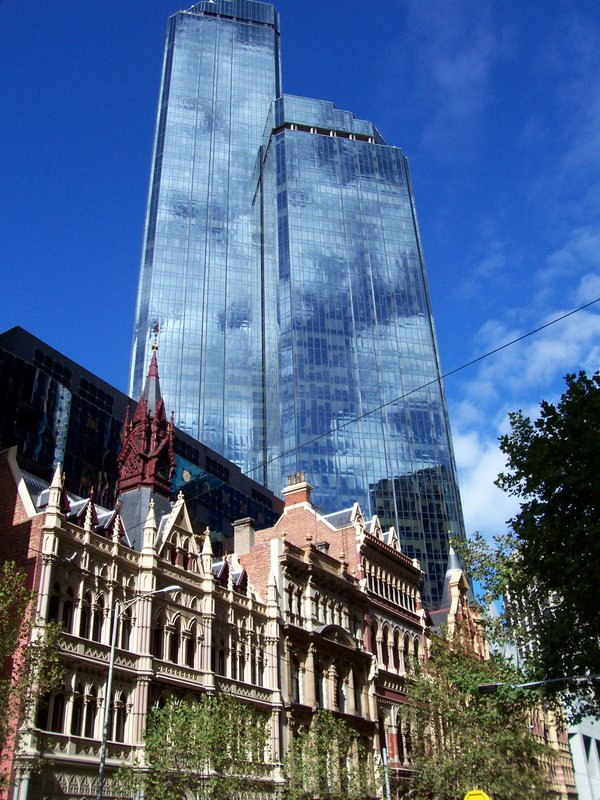 Old and new in Melbourne
