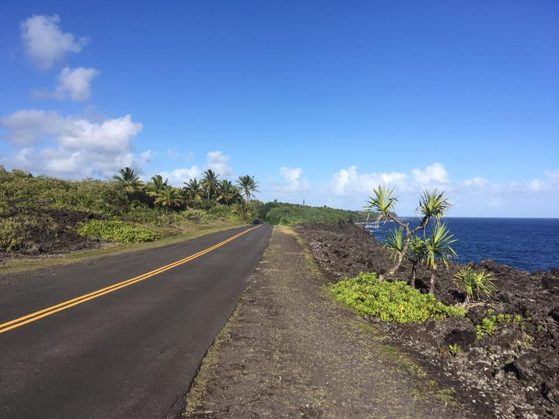 Along Highway 137, Southeast coast Big Island Hawaii
