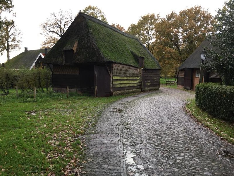 Orvelte, a typical village in Drenthe
