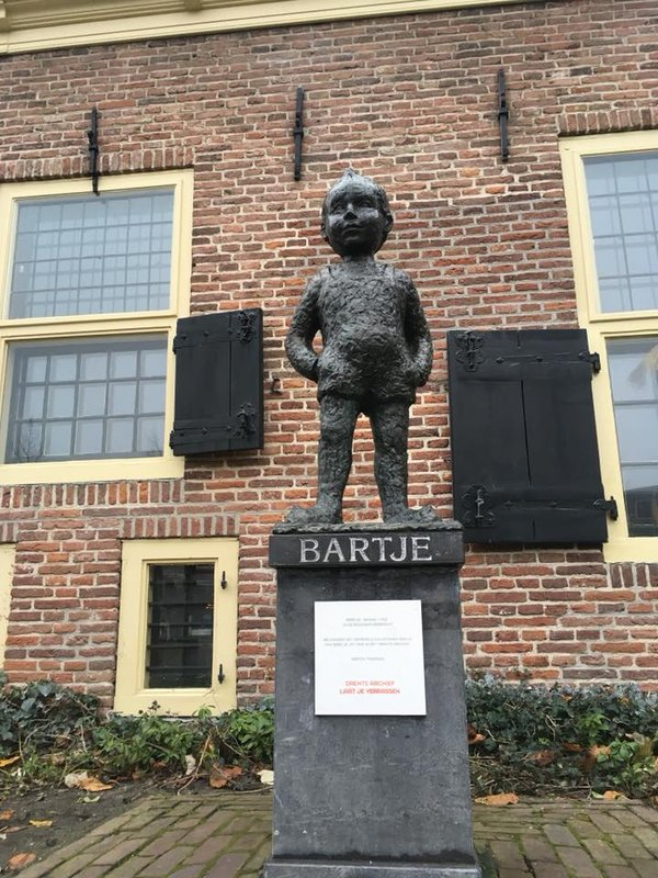 Bartje Statue, Assen