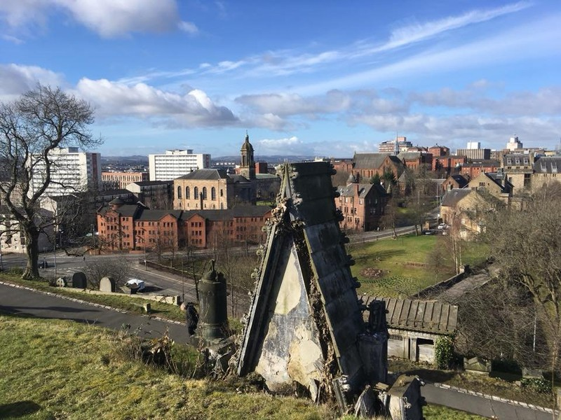 View over Glasgow from the Necropolis
