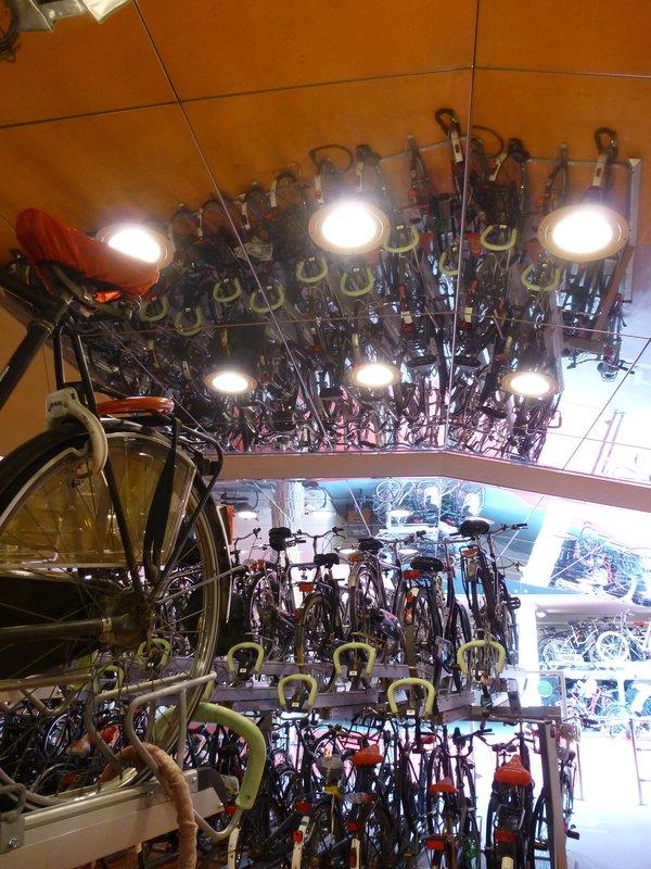 Bicycle Parking Garage