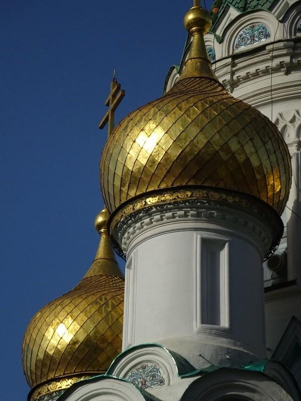 Beautiful Golden Union Domes