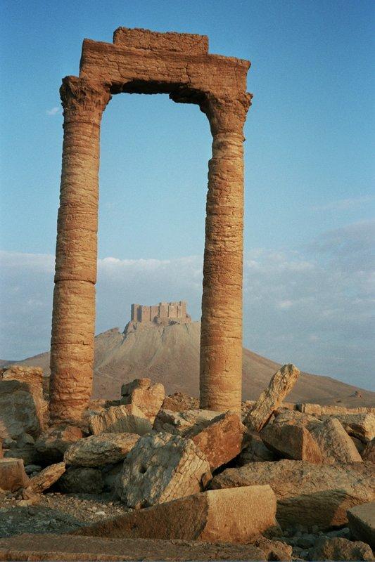 Ancient ruins at Palmyra