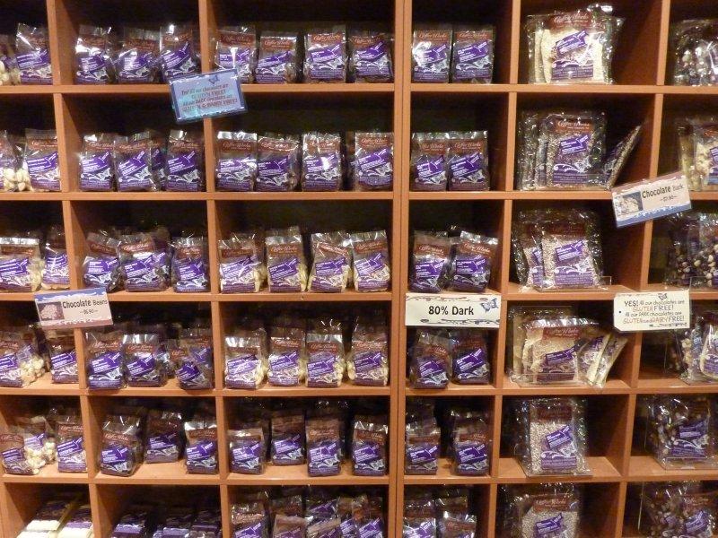 Chocolate for sale, Mareeba Coffee Works