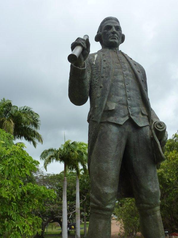 James Cook statue, Cooktown
