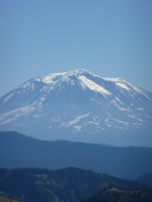 Mount Adams as seen from Mount St Helens