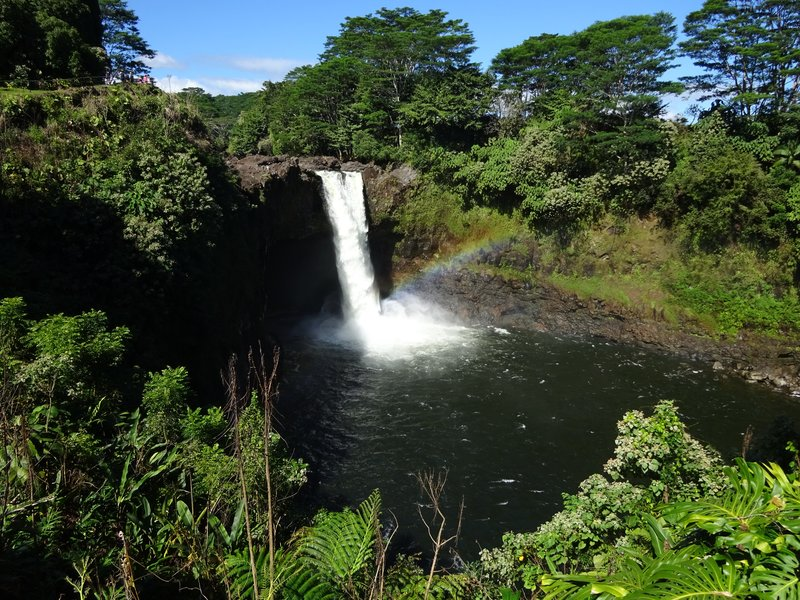 Rainbow Falls, Big Island Hawaii