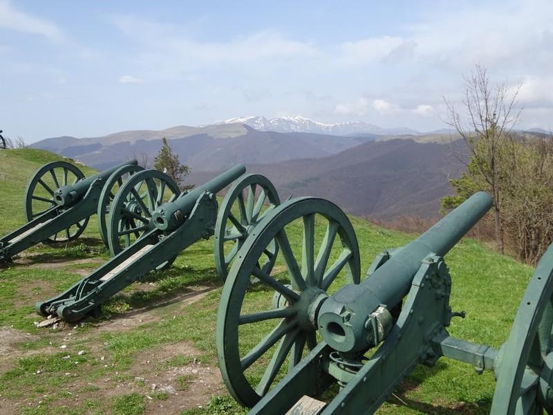 Canons at Shipka Monument