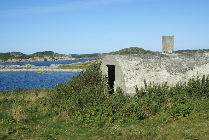 Old root cellar, Newfoundland