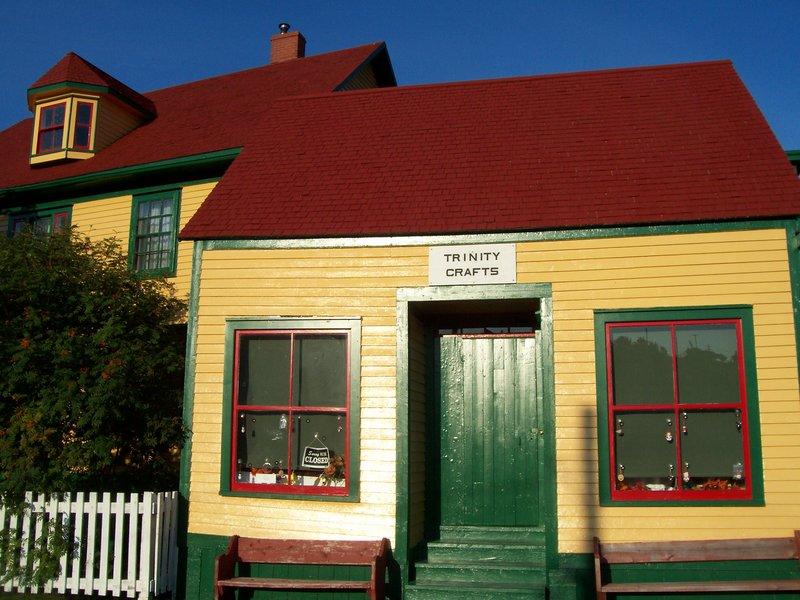 Trinity craftshop, Newfoundland