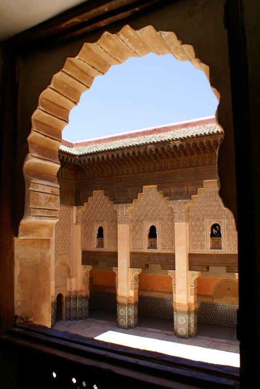The Medersa in Marrakech