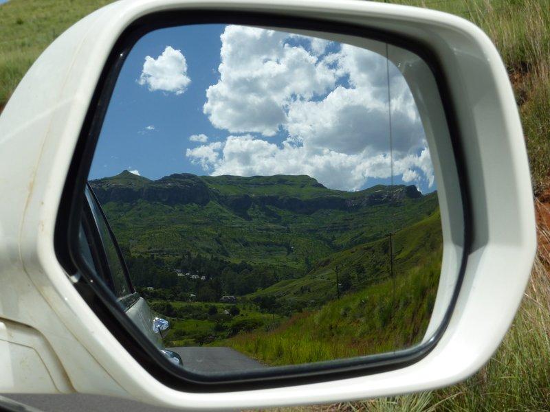 Great mirror view, Royal Natal NP