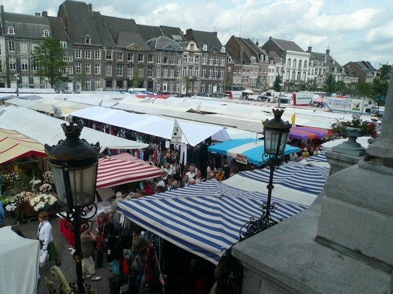 Market in Maastricht